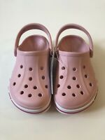 Crocs Pink Bayaband Clog K Size C10 205100-606