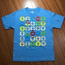 Stones Throw Yo! 45s Records Tshirt Mens M Medium Blue