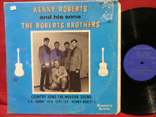 Kenny Roberts & His Sons The Roberts Brothers Autographed LP