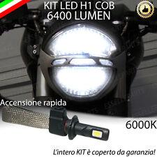 KIT A LED H1 6000K 3200 LUMEN DUCATI MONSTER 696 ABBAGLIANTE ACCENSIONE RAPIDA
