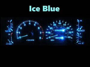 Gauge Cluster LED Dashboard Bulbs Ice Blue For 84 88 Toyota Pickup SR5 4Runner