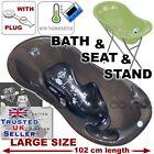 CONJUNTO GRANDE Lux 102cm longitud bebé Bañera con soporte+asiento