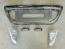 Mitsubishi KJ Verada Chrome Rear Garnish + Lights - Magna