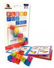 Brainwright Flexi Puzzle Brainteaser Bendable Flexible Multi Puzzles Ages 8+ NEW