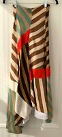 CELINE by Phoebe Philo | RARE multicolored silk skirt tiger belt | RRP: $4500
