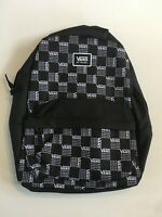Vans New Realm Classic Backpack Word Check Women's OSFA