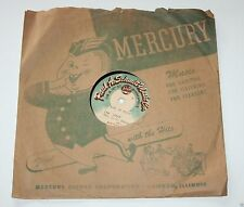 "Paul Schmitt Music Co - Minneapolis - 78 RPM 10"" Custom Vinyl Record - 1947"