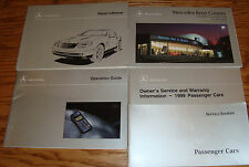 Original 1999 Mercedes Benz SLK 230 Kompressor Owners Operators Manual Set 99