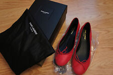 Saint Lauren Dance 05 Balle Class Leather Ballet Flat size 37.5