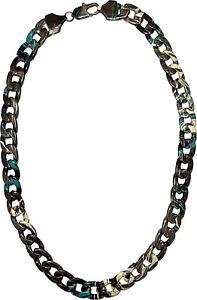 """Masterdis Painted Metall Halskette 25"""" 14mm"""
