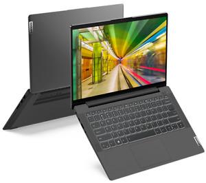 "Lenovo Laptop Ideapad 5 14"" Intel Quad Core i5 8GB RAM 256GB SSD Grey Windows 10"
