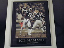 JOE NAMATH AUTOGRAPHED PHOTO AWESOME MUST HAVE