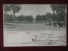 "MANTOVA-Piazza Virgiliana-anim,viagg,""900#6698"