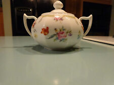 Antique/ Vintage Bavaria Z.S.& C.Sugar Bowl And Lid  (hand numbered / painted)