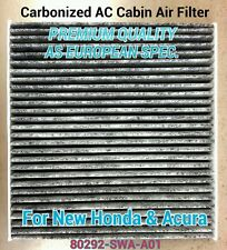 ★For 2013-15 ILX RDX ACCORD & 2012-15 CRV CABON CARBONIZED CABIN AIR FILTER ★