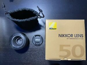 Pre-Owned Nikon NIKKOR AF-S 50mm F/1.8G Lens - Black (2199)