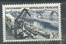 N° 1080  Port de strasbourg   1956 neuf ** année 1956