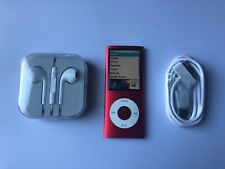 Apple iPod nano 4th Generation Chromatic Red (16GB) mint #7409-1