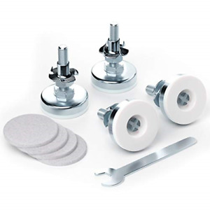 Adjustable Furniture Leveling Feet,4 Pack Heavy Duty Table Legs 1/2 Inch Cabinet