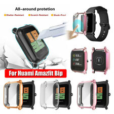 for Huami Amazfit Bip Youth Lite TPU Plating Screen Protectors Protective Case