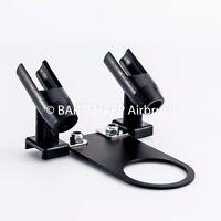 Airbrush Holder for 2 Airbrushes Air Spray Pen Holder Airbrush Kit Airbrush Set