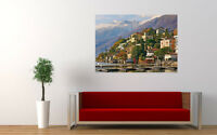 "ASCONA SWITZERLAND NEW GIANT LARGE ART PRINT POSTER PICTURE WALL 33.1""x23.4"""