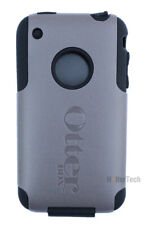 Authentic Otterbox Commuter Series Gray Black Case Cover Apple iPhone 3G 3Gs