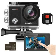 Dragon Touch 4K 16MP Action Camera Underwater Waterproof Camera 170°