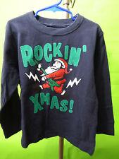 Gymboree Retail MR MAGICIAN Long Sleeve Shirt Rockin' XMas Santa Size 5 NWT