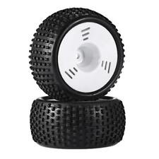 2pcs 1/16 Rally Tires Buggy Truck Tyre for HPI HSP Hobao Savage ZDRacing LRP