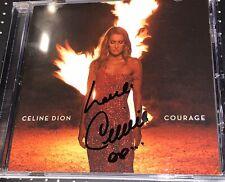 Celine Dion Courage Autographed CD Rare