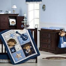 Carter's Rockstar Monkey 6-Pc Crib Bedding Set Include Extra Sheet/Blanket *New*