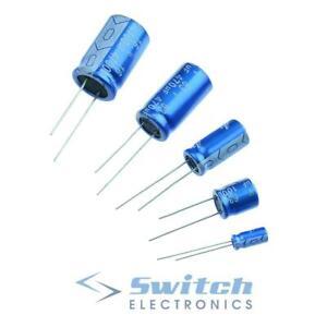 Radial Aluminium Electrolytic Capacitor ±20% 105°C