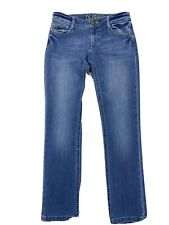 DL1961 Women's Medium Wash Bowie Stretch Toni High Rise Cropped Jeans 26