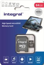 64GB Micro SD Tarjeta De Memoria Para LENOVO Yoga Tab inteligente 10.1,Tab P10 10 comprimidos