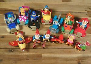 Noddy Toyland Large Diecast Corgi Bundle - 13 Characters + Train, Plane, Cars ++