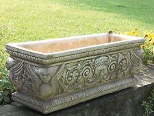 Blumenkasten Pflanzkasten Schale Pflanzgefäß  Gartendekoration Marmor Art.355/TU
