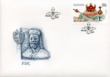 Czech Republic 2017 FDC Crown Jewels 1v S/A Set Cover Jewellery Stamps