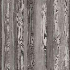 Rasch Papel Pintado Cabana 148627 Madera de la Pared Gris-Marrón Diseño