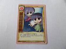 Carte manga Lycee Rika Furude et Hanyuu Higurashi Matsuri    !!!
