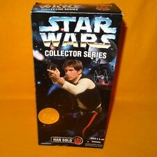 "1996 HASBRO KENNER STAR WARS COLLECTOR SERIES HAN SOLO 12"" FIGURE BOXED SEALED"