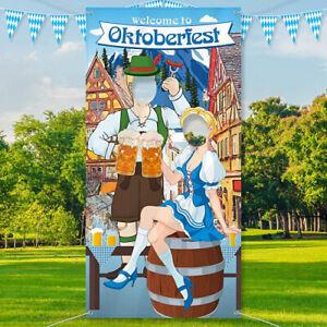 Oktoberfest Party Decorations Oktoberfest Photo Prop, Giant Fabric Photo Booth