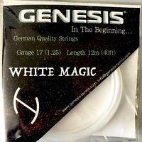 Genesis White Magic 40' 12m Set 17 (1.25) German Made Tennis Racquet String