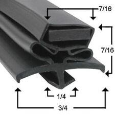 """True Compatible Door Gasket 810813 For Tsu / Tuc / Twt-60"""" Unit"""