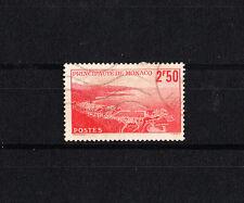 MONACO  vue de la principauté  2f50 rouge   de 1939/41   num:  179  oblitéré