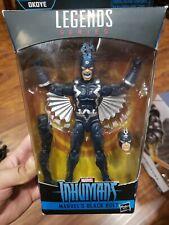 """Marvel Legends Inhumans 6"""" Black Bolt Action Figure (Okoye BAF) - NEW/SEALED"""