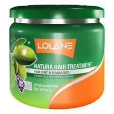 Lolane Natura hair treatment repair dry damaged Jojoba oil silk proteien 500g.