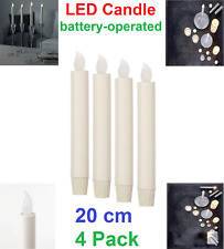 Ikea LJUSANDE Battery Power LED Candle Flickering LED Flameless Candle 20cm New
