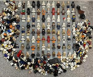 Huge LEGO Star Wars Minifigure Bundle Rebel Pilot Snow Storm Trooper Han - 850g