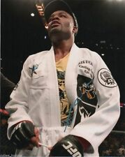 UFC Ultimate Fighting Anderson Silva Autographed Signed 8x10 Photo COA W
